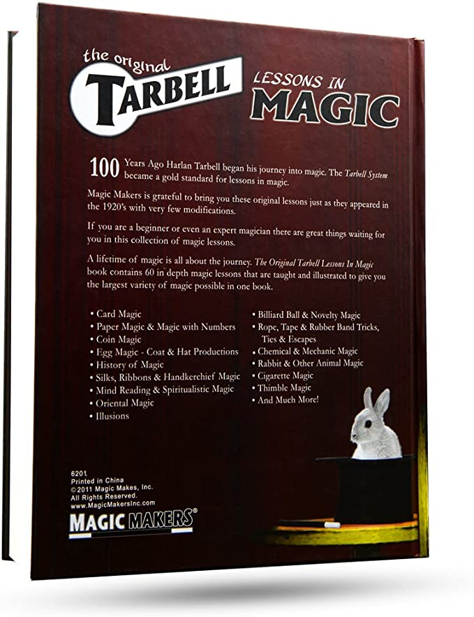 Tarbell Course of Magic Volume 4 BOOK magic trick close-up learn trick illusions