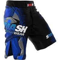 SMMASH Machine Deporte Profesionalmente Pantalones Cortos MMA para Hombre, Shorts MMA, BJJ, Grappling, Krav Maga…