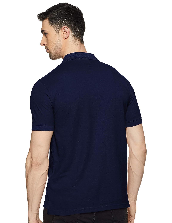 Airforce Blue Colour Men's Classic Fit Polo