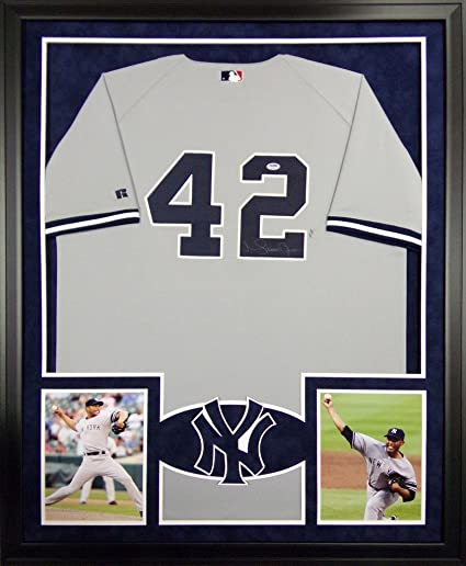 b52d9c7d843 Image Unavailable. Image not available for. Color  Mariano Rivera New York  Yankees Autograph Signed Custom Framed Jersey ...