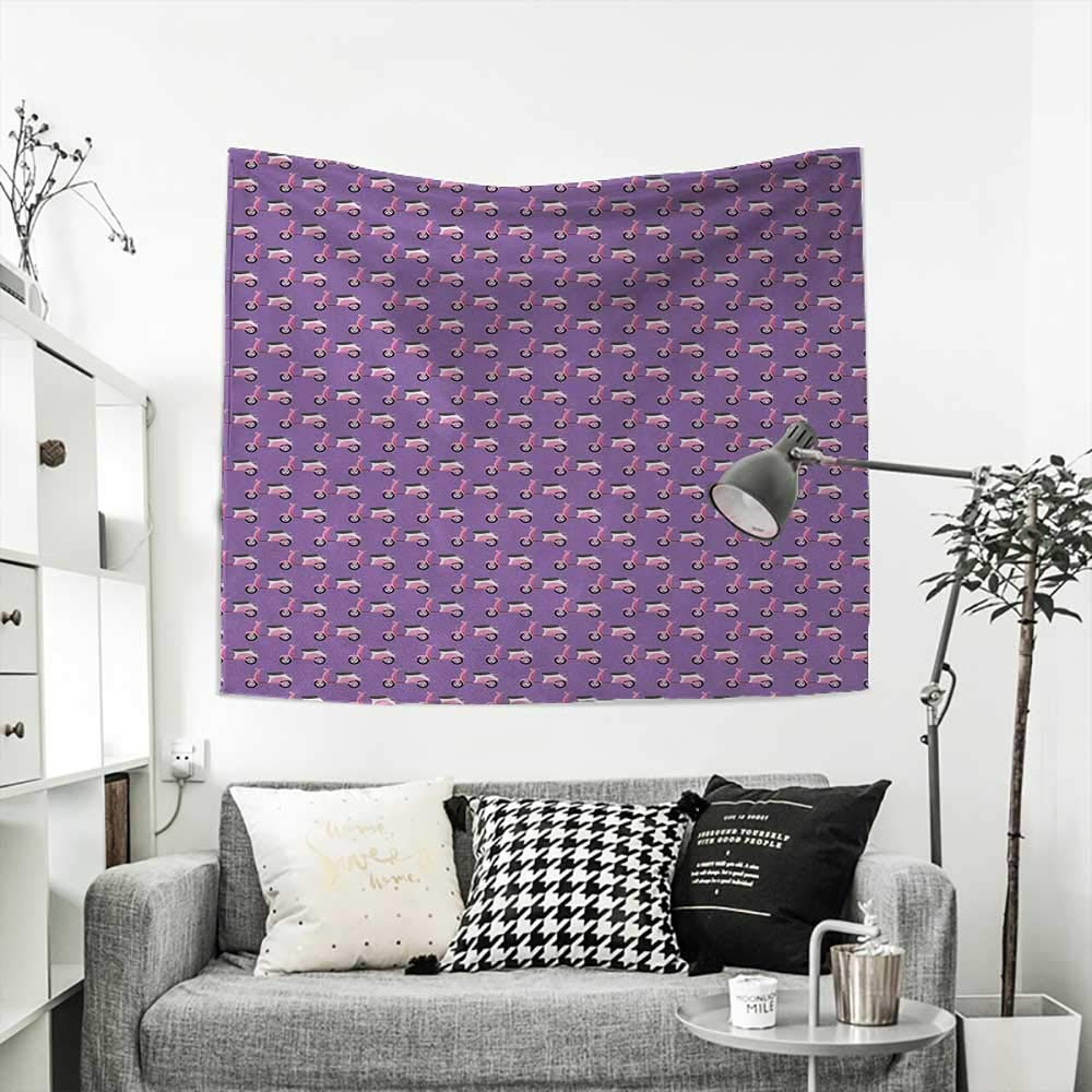 Amazon.com: RuppertTextile Motorcycle Square Tapestry ...