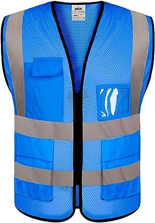 Men and Kids 3M Reflective Fabrics XL-XXXL Reflective Vest For Women