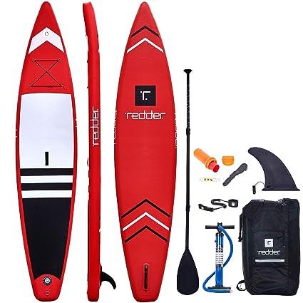 Amazon.com: Más rojo Nova hinchable paddle surf Race/Touring ...