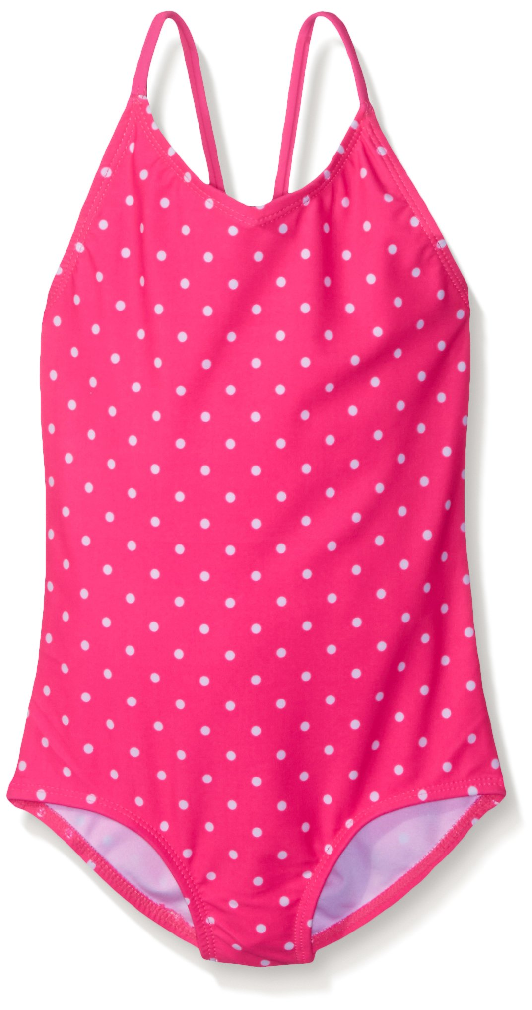 Kanu Surf Big Girls Chloe One Piece Swimsuit,Pink,12