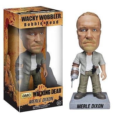 Funko Walking Dead: Merle Wacky Wobbler: Funko Wacky Wobbler: Toys & Games