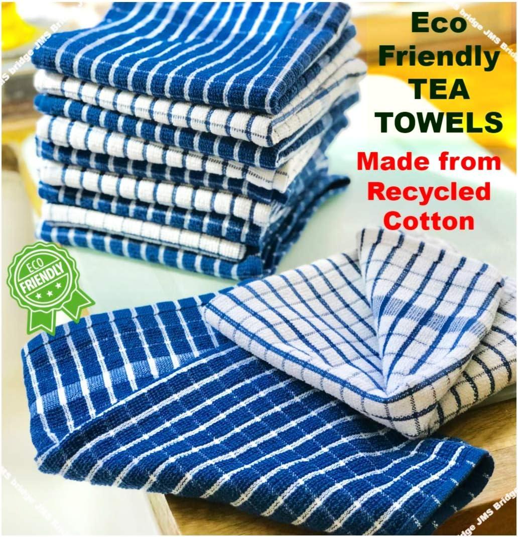 Kitchen Tea Towels Dish Cloths Absorbent Drying Towel Washing Cotton Cloths US