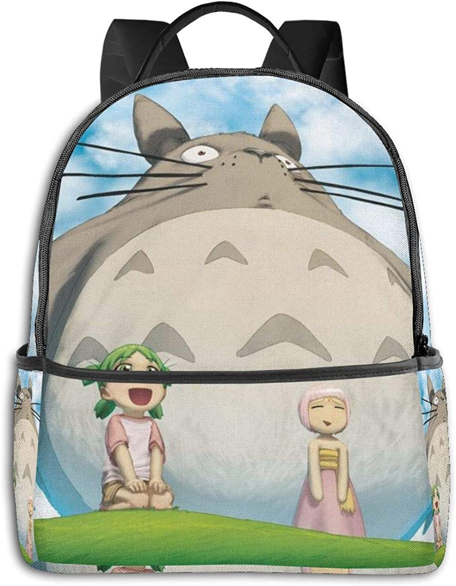 Mochila de anime a t-oro de dibujos animados unisex para estudiante bolsa clásica ligera con cremallera mochilas de 14,5 x 30,5 x 12,7 cm