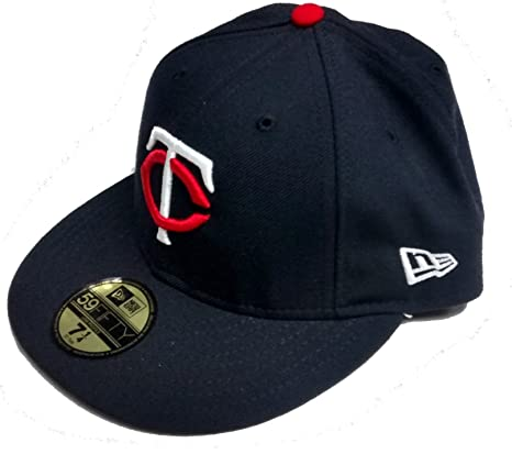 the best attitude 86643 74f7e Minnesota Twins Navy Wool LOW PROFILE Fitted Hat (6 3 4)
