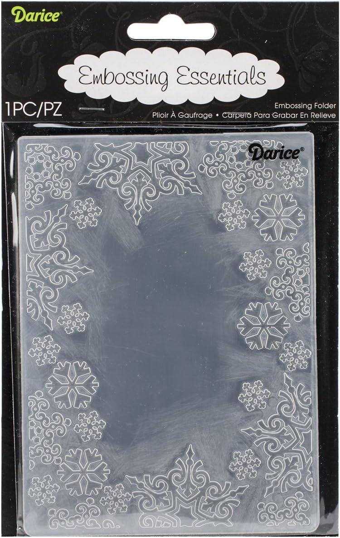 Darice Embossing-Prägeschablone Multi Circles 10,8x14,6cm