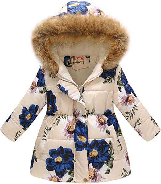 Sunbona Toddler Baby Girls Butterfly Print Hoodie Casual Jacket Coat Tops Clothes