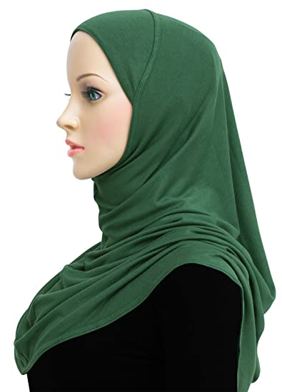 1320fd0fb4d91 Cotton Hijab 1 piece Khatib Amira Head Scarf