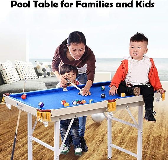 Mesa de billar YYX 2-en-1 Juego de combinación de Mesas de Superficie for Mesa de Ping Pong y Piscina - Mesas de Billar Juego for familias y niños: Amazon.es: Hogar