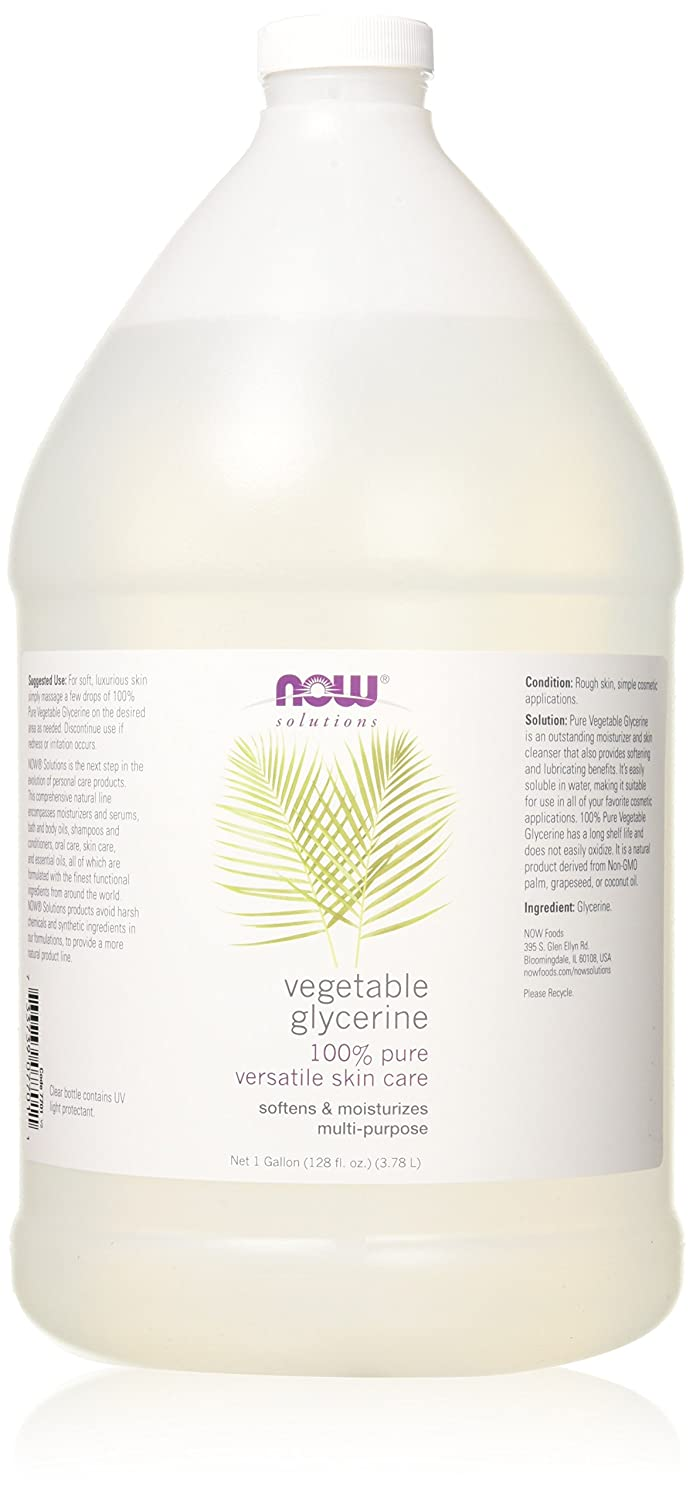 NOW Solutions Vegetable Glycerine (Liquid), 16-Ounce NOW Foods 7700