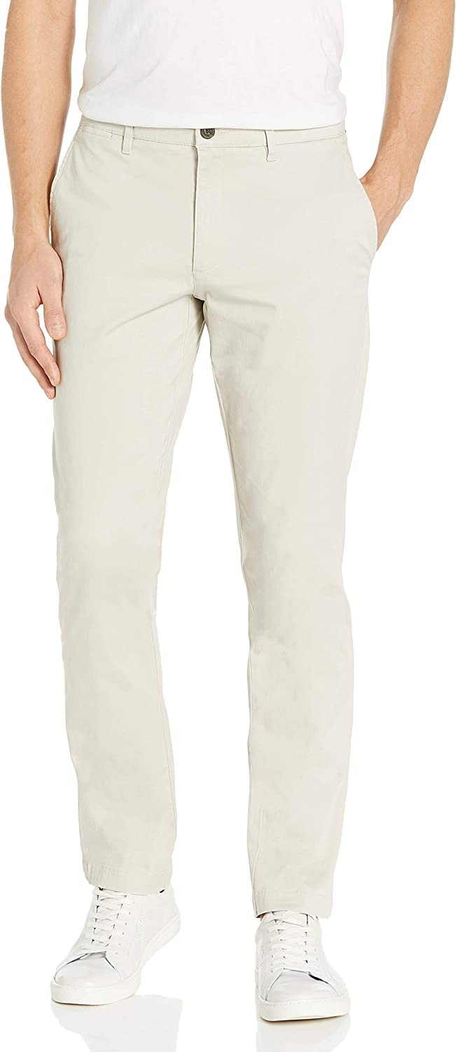"""Amazon Brand - Goodthreads Men's """"The Perfect Chino Pant """" Slim-Fit Washed Comfort Stretch"""