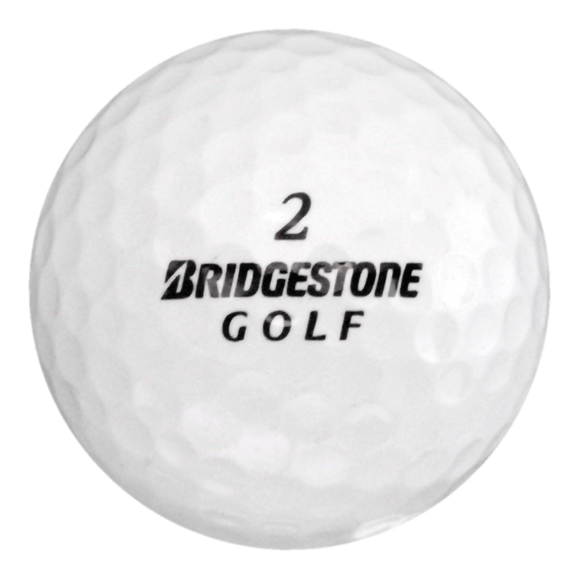 120 Bridgestone Mix - Mint (AAAAA) Grade - Recycled (Used) Golf Balls