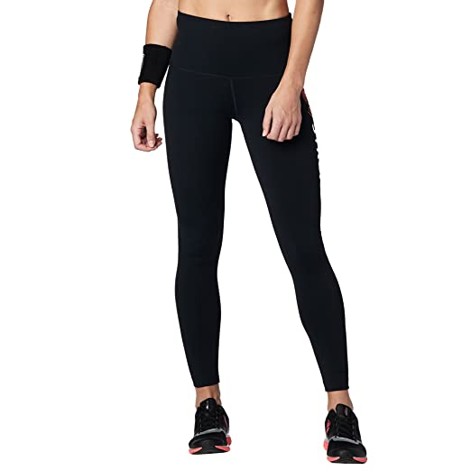0cd6a2ba7dc36 STRONG by Zumba Women's High Waisted Shaping Athletic Performance Ankle Workout  Leggings with Compression at Amazon Women's Clothing store: