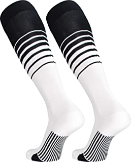 754267adfe3 TCK Sports Elite Breaker Soccer Socks With Extra Cross-Stretch For Shin  Guards (Multiple