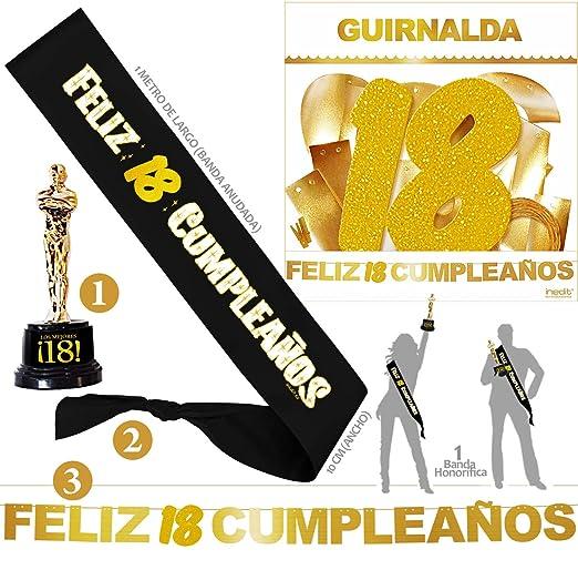 Inedit Festa - Banda 18 Años Cumpleaños Banda Honor Feliz 18 ...