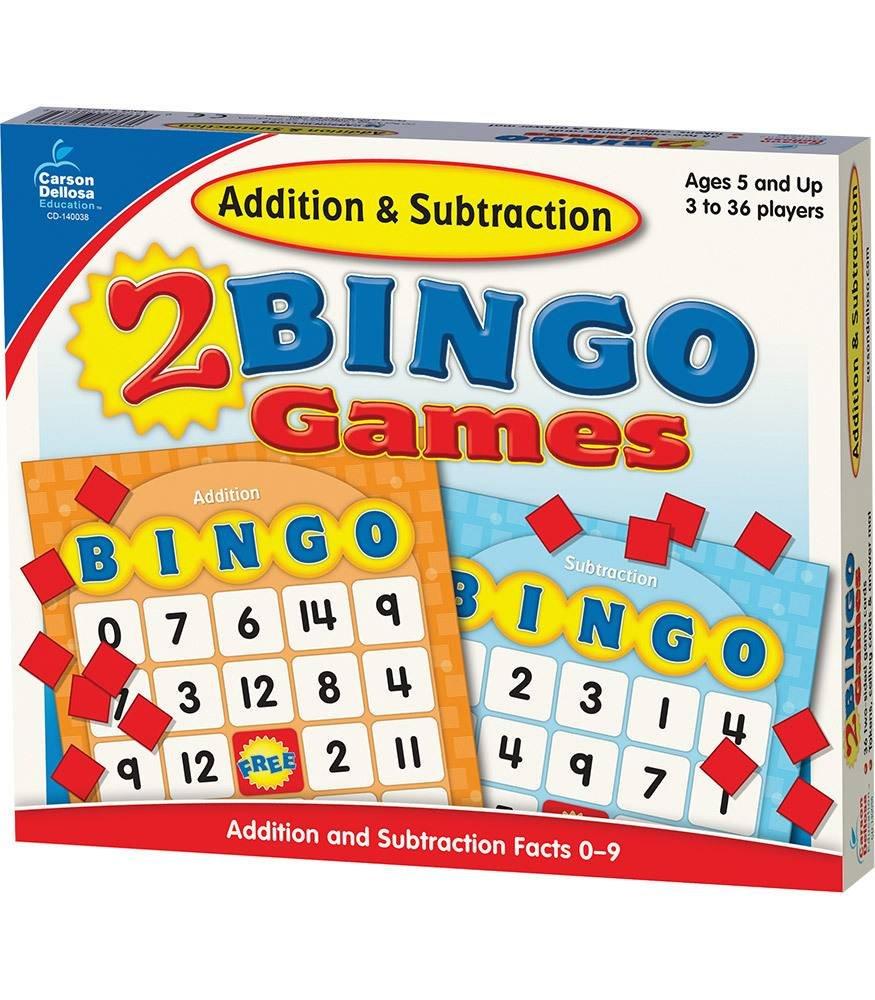 Carson-Dellosa Addition & Subtraction Bingo