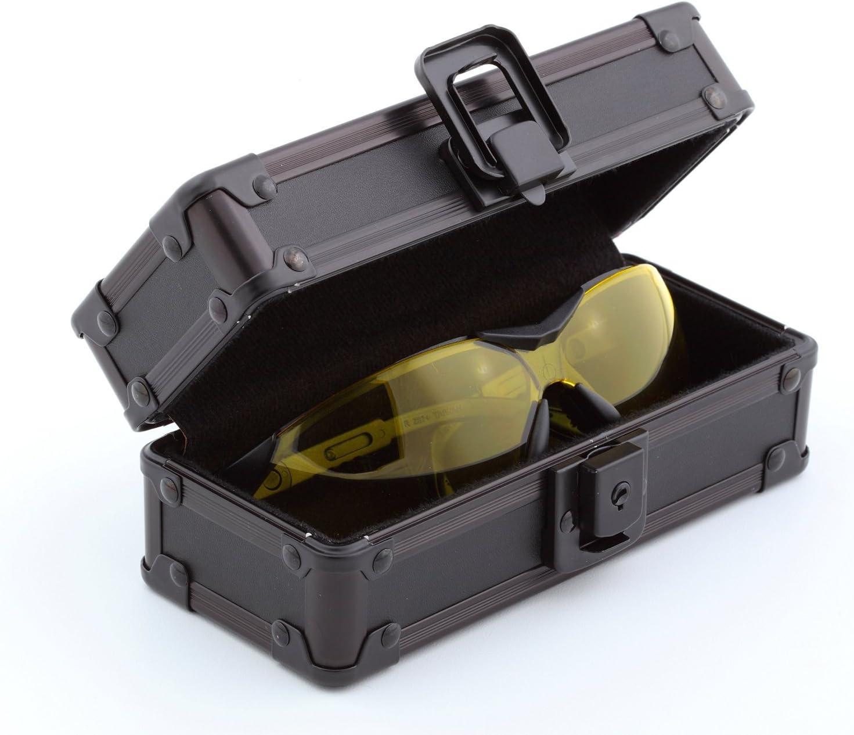 VZ03637 Vaultz Locking Sunglass Case Next Camo Pink