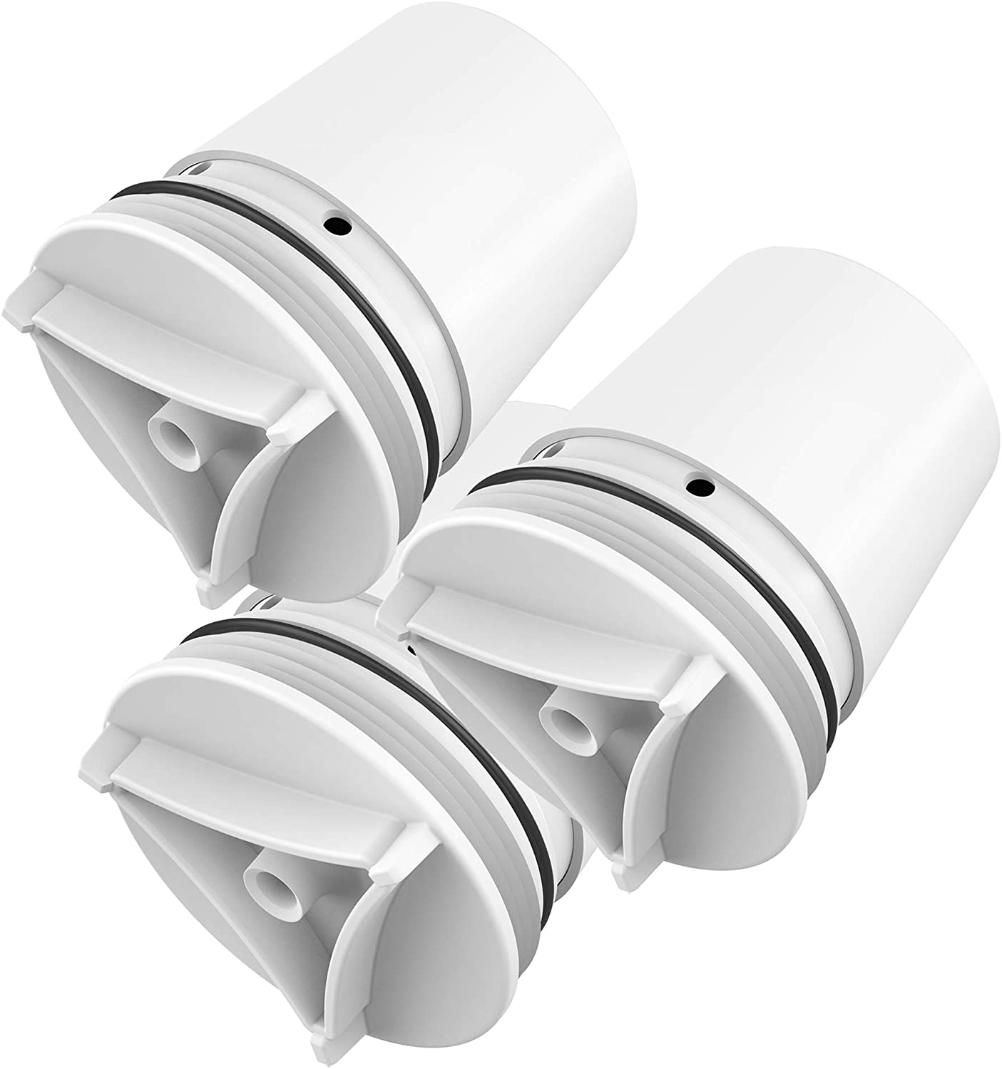 Waterdrop FM-15RA Faucet Water Filter, Compatible with Culligan FM-15RA Water Filter, Culligan FM-15A Filtration System, White Finish (Pack of 3)
