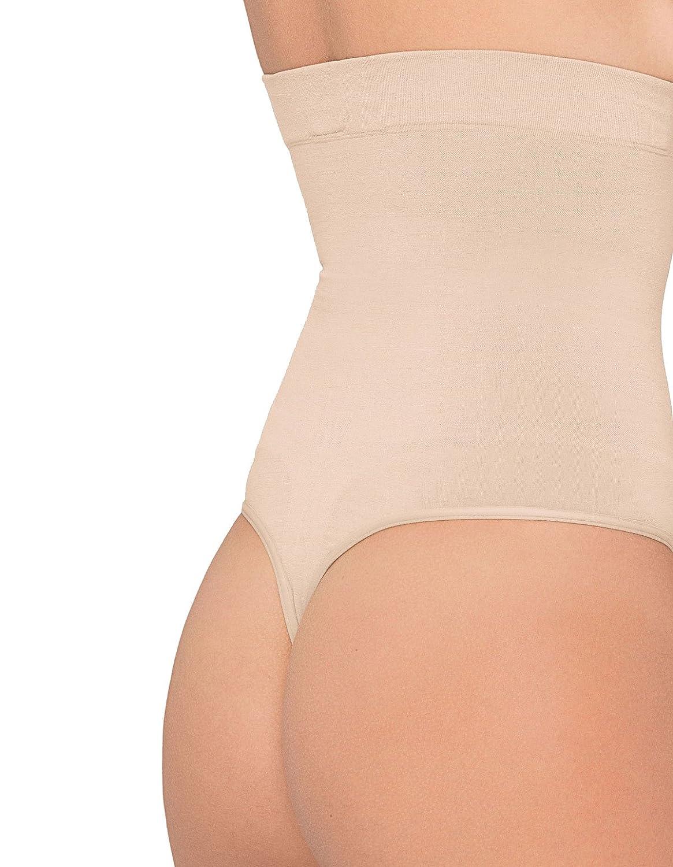 Tanga de color carne, cintura alta y delgada Body Wrap Regular Pin 44841: Amazon.es: Ropa y accesorios