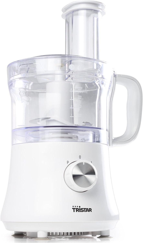 Tristar MX-4167 - Robot de cocina con bol para picar alimentos, capacidad 1,2 l, 500 W, color blanco: Amazon.es: Hogar