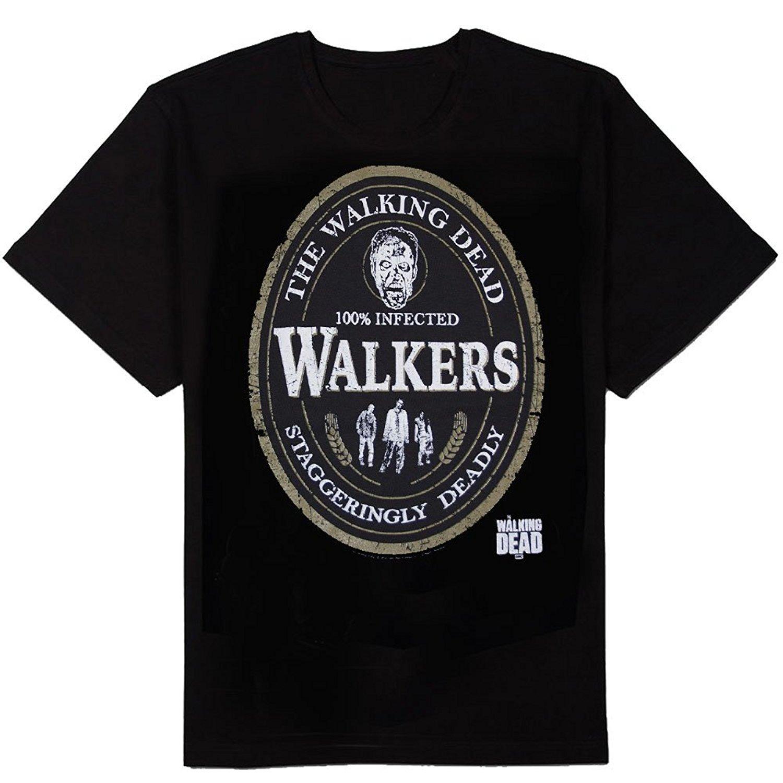 Walking Dead The Walkers Oval Label 3076 Shirts