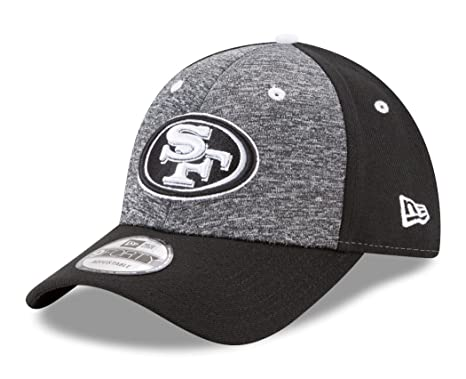 watch 14eee 644e6 Image Unavailable. Image not available for. Color  San Francisco 49ers New  Era 9Forty NFL  quot League Shadow 2 quot  Adjustable Hat -