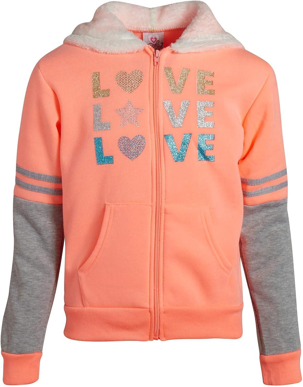 Real Love Girls 2-Piece Sherpa Lined Fleece Jogger Set