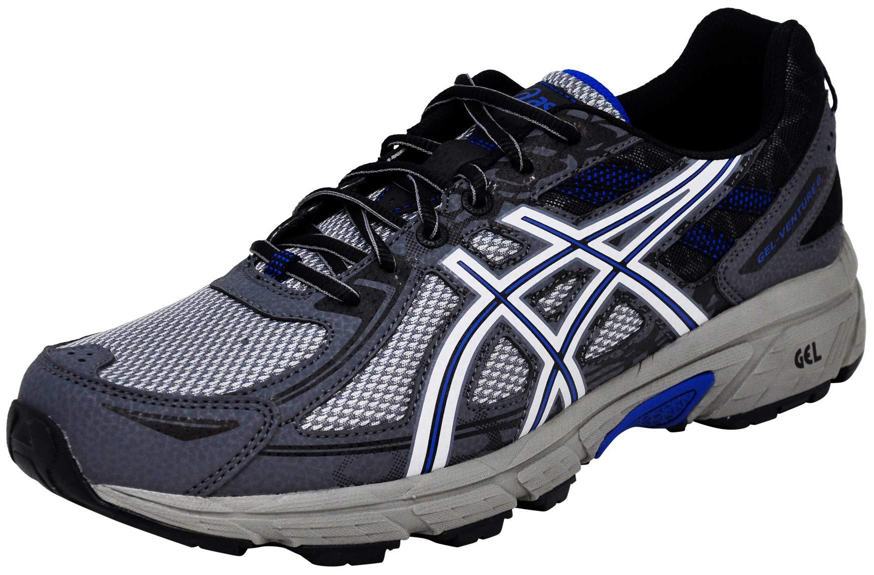 ASICS Men Gel-Venture 6 Running Shoe, Graphite Grey Black, 8.5 M US by ASICS