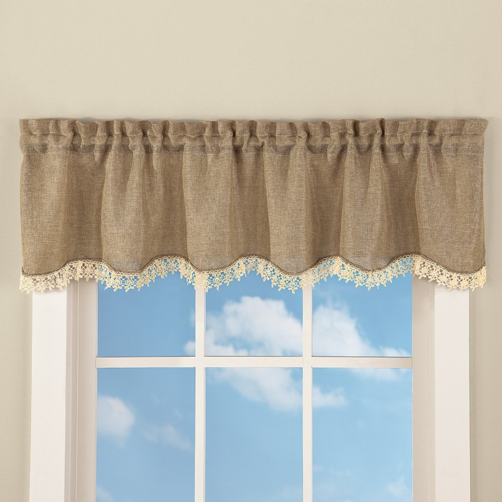 curtains kitchen ip com window walmart and or homes brown quilt set valance of gardens cabin better