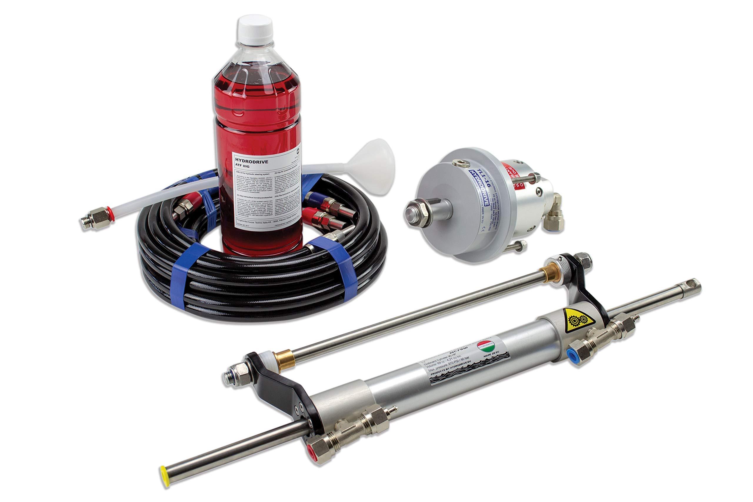 Hydrodrive MF75W Outboard Hydraulic Steering System Till 75 HP by Hydrodrive
