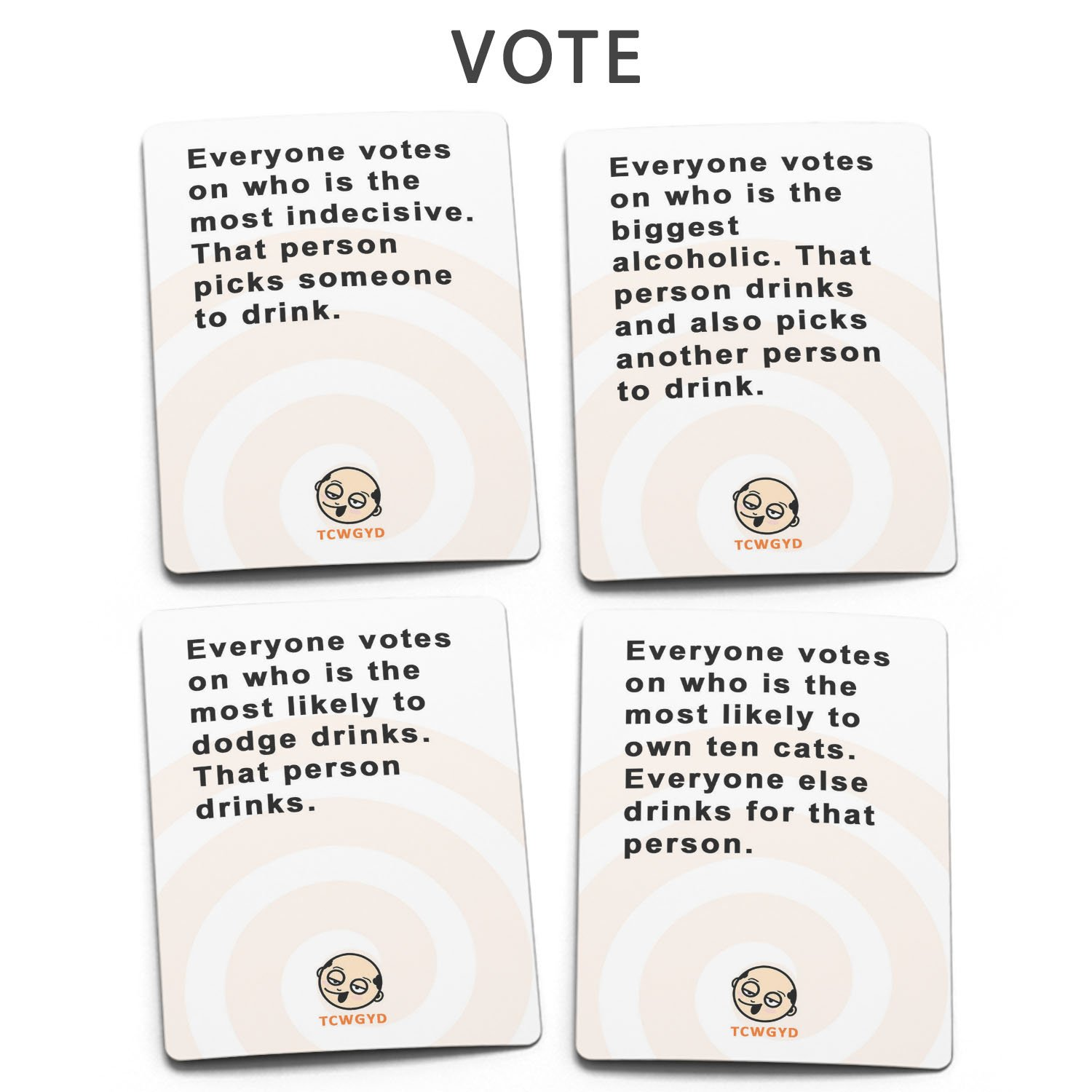 These Cards Will Get You Drunk - Fun Adult Drinking Game For Parties by These Cards Will Get You Drunk (Image #4)
