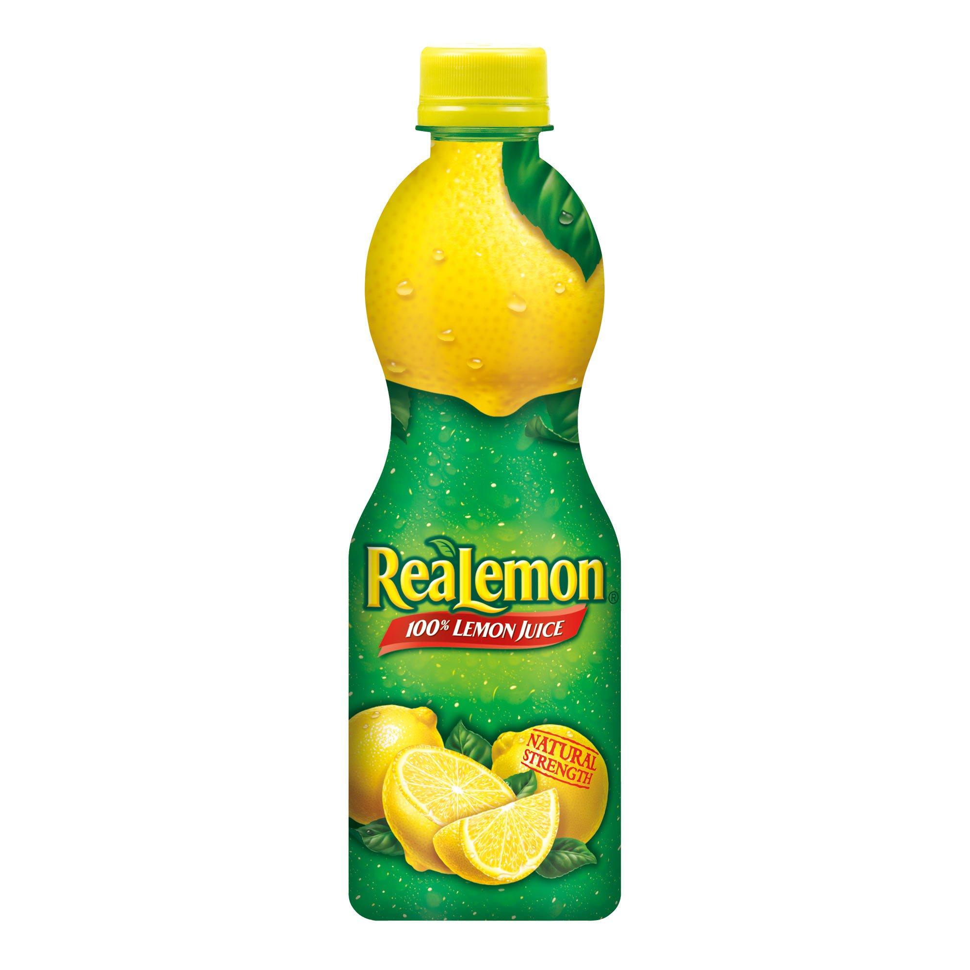 ReaLemon 100% Lemon Juice, 8 Fluid Ounce Bottle