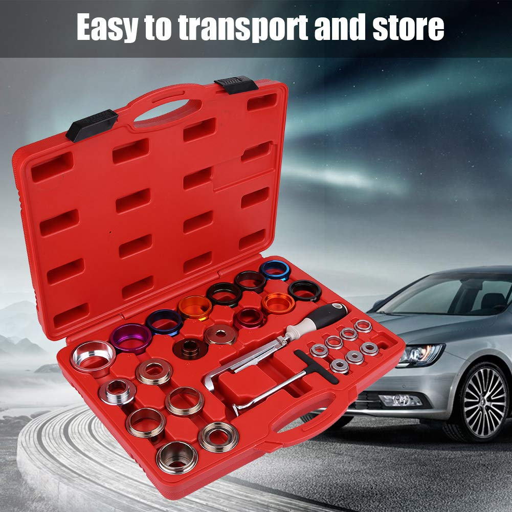 Keenso 27 Pcs Car Camshaft Crank Crankshaft Oil Seal Remover Installer Removal Tool Kit by Keenso (Image #9)