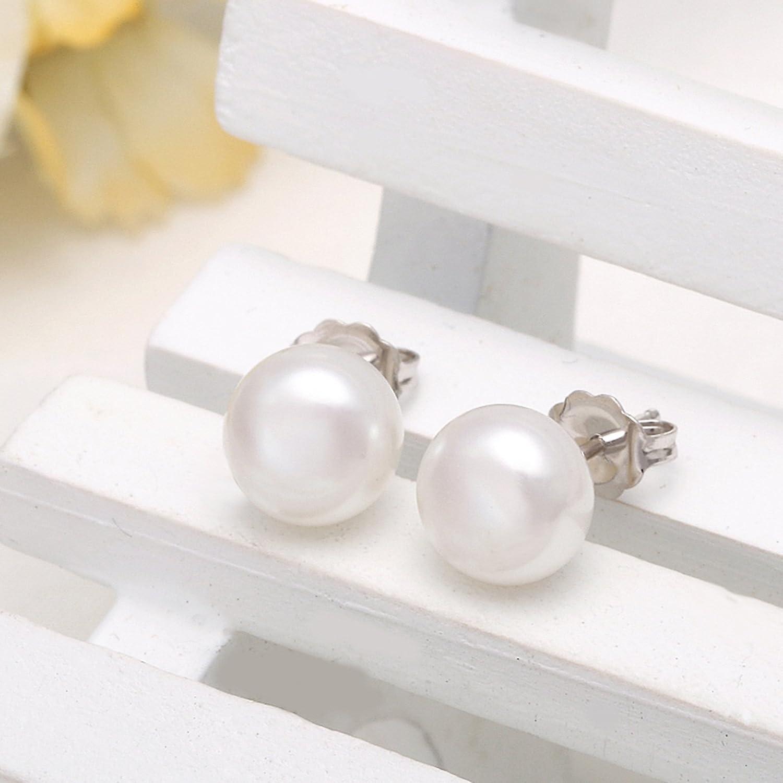 KnSam Silver Earrings for Wedding Earrings in Jewelry Elegant Classic Style