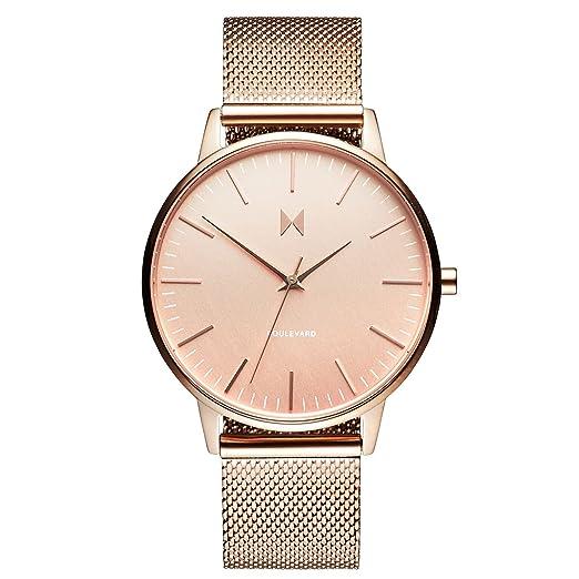 MVMT Reloj Analógico para Mujer de Cuarzo con Correa en Acero Inoxidable D-MB01-RG: Amazon.es: Relojes
