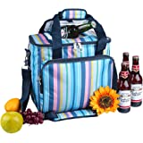 Yodo Collapsible Soft Cooler Bag 18L/22L/25L - Insulated up to 4 - 6 hours, Roomy for Family Reunion, Party, Beach, Picnics, Sporting Music Events, Everyday Meals to Work