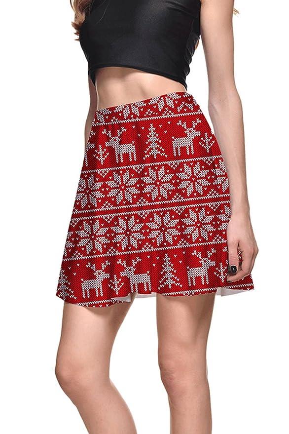 Reindeer Skater Skirt