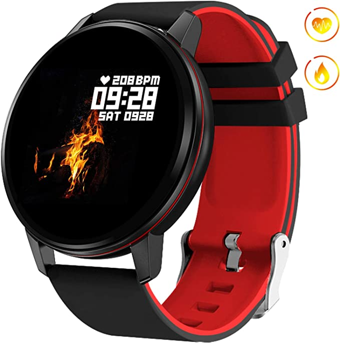 GOKOO Smart Watch for Men Women with Activity Fitness Tracker Waterproof Smartwatch with Heart Rate Blood Pressure Sleep Monitor Pedometer Remote ...