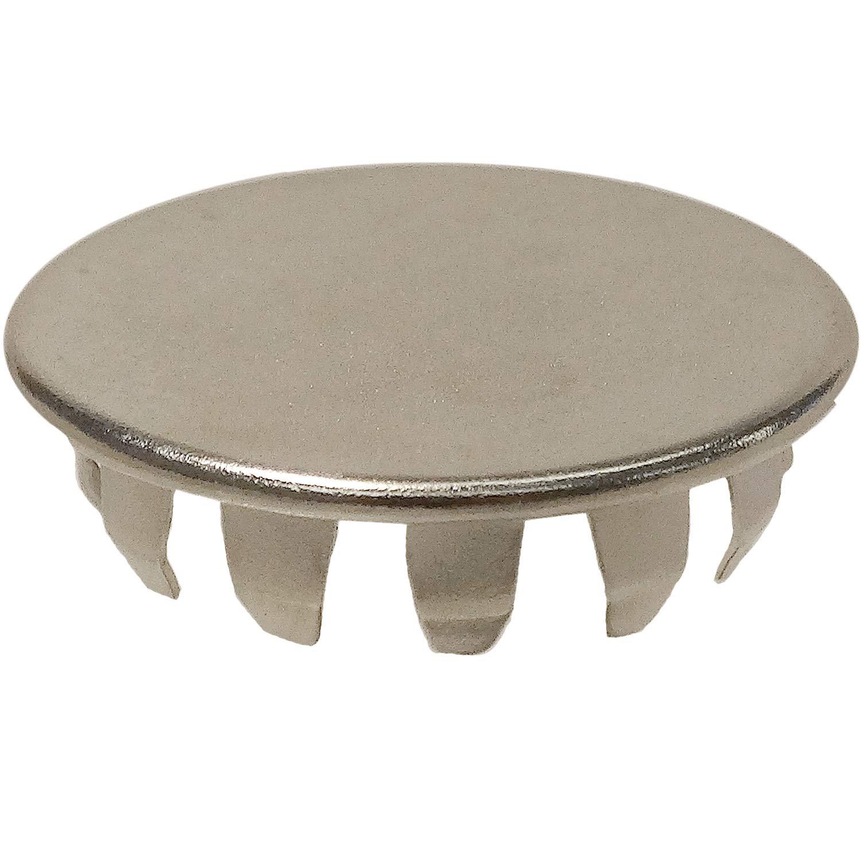Standard Hole Plug - Fits 7/8'' Hole, SS (304) (100 pcs. of each) (D3560SS)