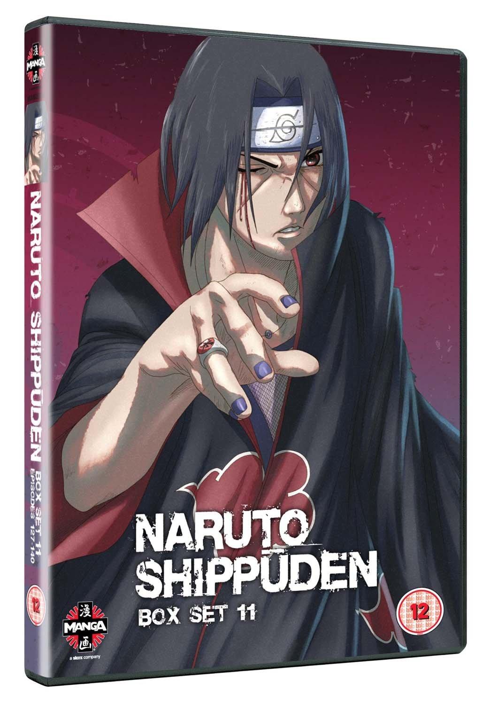 Naruto Shippuden Box Set 11 [Reino Unido] [DVD]: Amazon.es ...