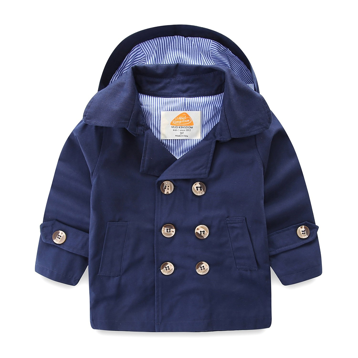 Mud Kingdom Boys Coats with Removable Hood SS0239