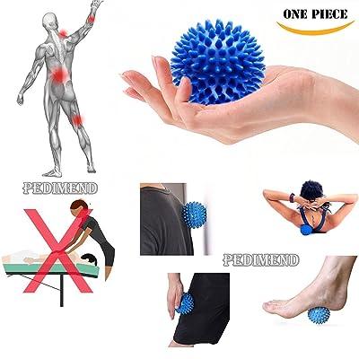 Pedimendtm Balles de massage | Trigger Point Balles de massage | Spiky boules de yoga | Idéal pour soulager le stress Thérapie | sur tout le corps Tissus profonds Muscle Therapy | Self masseur | pour homme et fe