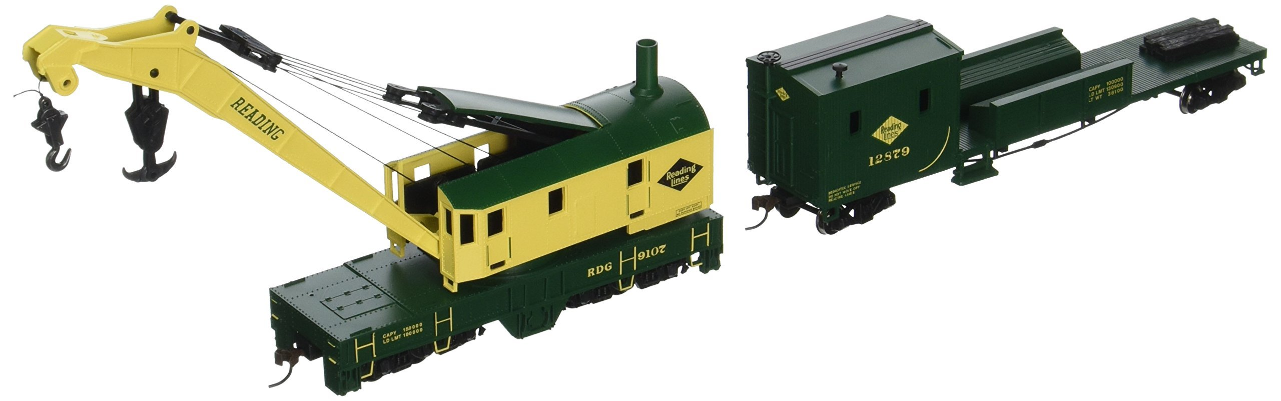 Bachmann Trains Reading (Green and Yellow) Boom