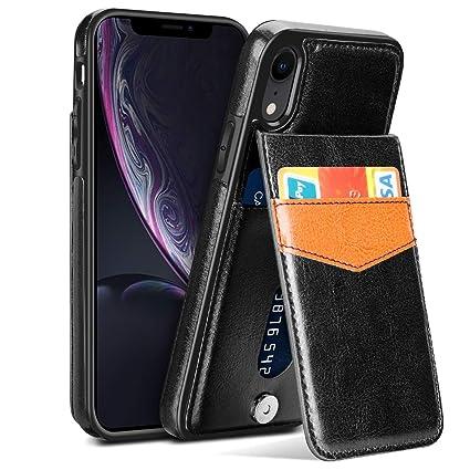 Amazon.com: Samsung - Funda de piel sintética para iPhone XR ...