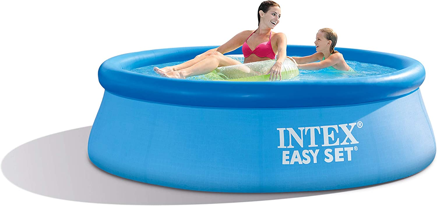 Intex 8ft X 30in Easy Set Pool Set With Filter Pump Garden Outdoor