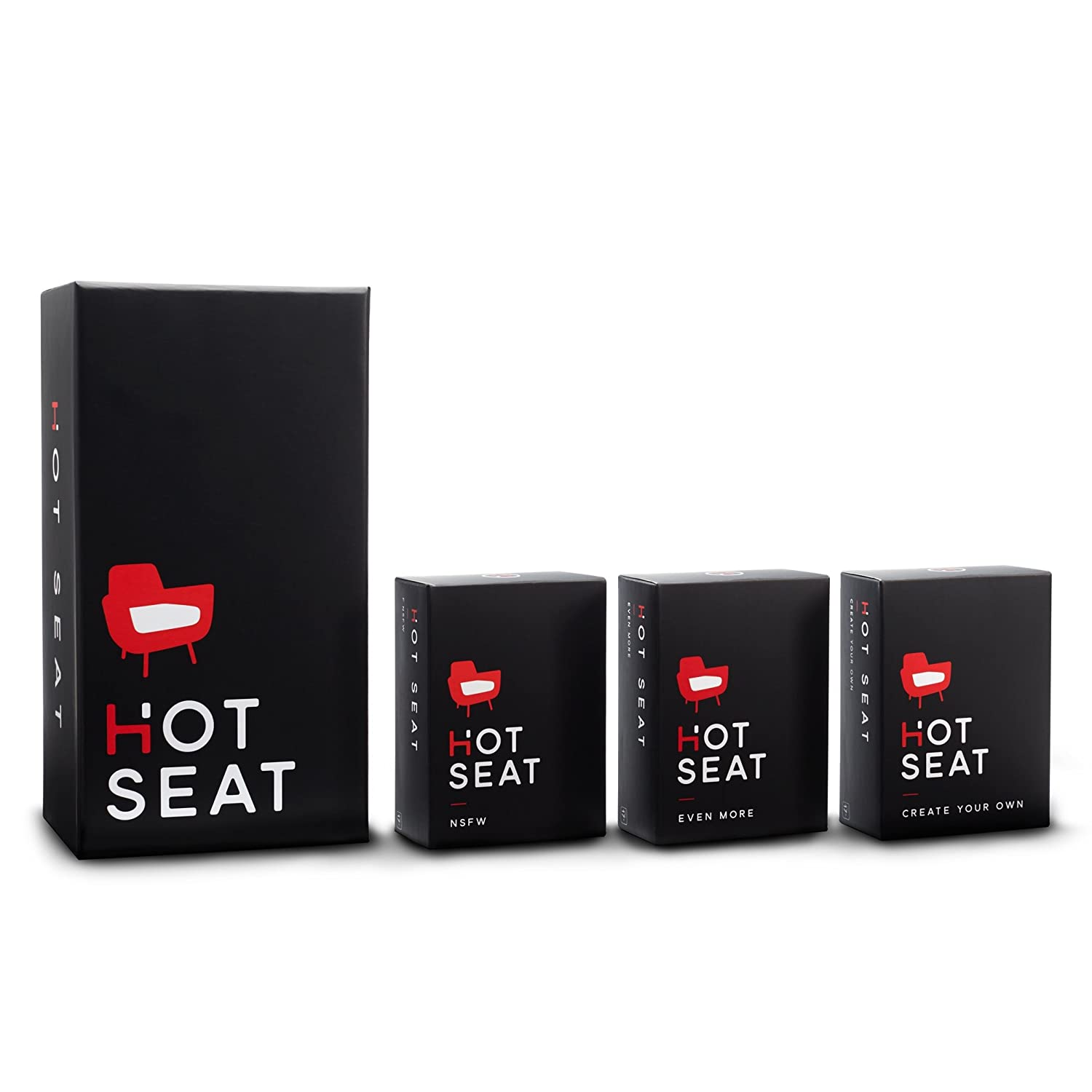 Hot Seat - The Adult Party Game About Your Friends (The complete card game set) [Versione in Inglese] Player Ten