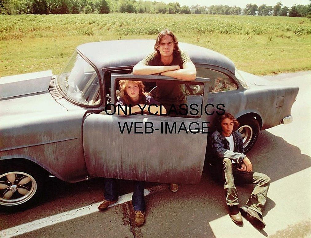 OnlyClassics 1971 Two Lane Blacktop 12X16 Poster Dennis Wilson James Taylor HOT Rod 1955 CHEV